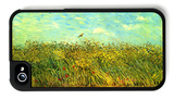 Wheat Field with a Lark iPhone 4/4S Case by Vincent van Gogh