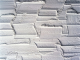 Textured White Plaster Background Photographic Print by Green Light Collection