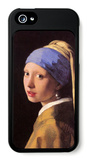 The Girl with the Pearl Earring iPhone 5 Case by Jan Vermeer