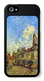 Street in Nevers iPhone 5 Case by Johan-Barthold Jongkind