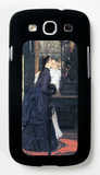 Young Women with Japanese Goods Galaxy S III Case by James Tissot