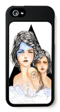 Aqua iPhone 5 Case by Charmaine Olivia