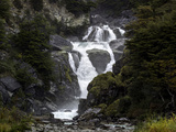 Waterfalls, Aysen Region, Patagonia, Chile Photographic Print by Green Light Collection