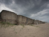 Ruins of a Fortress, Liepaja Fortress, Liepaja, Kurzeme Region, Latvia Photographic Print by Green Light Collection