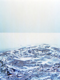 Churning Water Bubbles in Bright Light Photographic Print by Green Light Collection