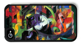 Abstract with Cattle iPhone 4/4S Case by Franz Marc