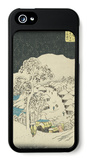 Fujikawa, from the Fifty-Three Station of the Tokaido Road iPhone 5 Case by Ando Hiroshige