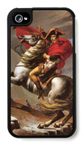 Napoleon Crosses the Great St. Bernard Pass iPhone 4/4S Case by Jacques-Louis David