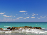 Surf on the Beach, West Palm Beach, Florida, USA Photographic Print by Green Light Collection