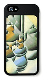 Still Life with Oil Lamp iPhone 5 Case by Juan Gris