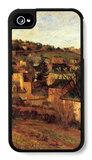 Blue Roots at Rouen iPhone 4/4S Case by Paul Gauguin