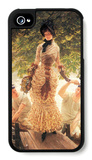 On the Thames iPhone 4/4S Case by James Tissot