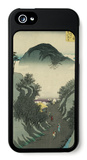 Okabe, from the Fifty-Three Station of the Tokaido Road iPhone 5 Case by Ando Hiroshige