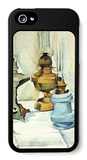 Still Life with Three Lamps iPhone 5 Case by Juan Gris