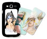 Preserve, Aqua, Surfs Up Galaxy S III Case Set by Charmaine Olivia
