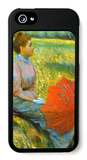 Lady in a Meadow iPhone 5 Case by Federico Zandomeneghi