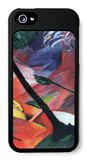 Deer in the Forest Ii iPhone 5 Case by Franz Marc