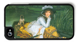 A Young Woman in a Boat iPhone 4/4S Case by James Tissot