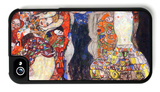 Adorn the Bride with Veil and Wreath iPhone 4/4S Case by Gustav Klimt