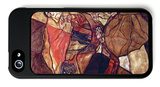 Agony (The Death Struggle) iPhone 5 Case by Egon Schiele
