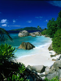 Anse Patatran La Digue Seychelles Photographic Print by Green Light Collection