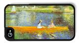 The Seine iPhone 4/4S Case by Pierre-Auguste Renoir