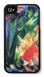 Fowl iPhone 4/4S Case by Franz Marc