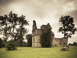 Ruins of Ungru Or Linden of Manor, Haapsalu, Estonia Photographic Print by Green Light Collection