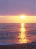 Sunset Over the Sea Photographic Print by Green Light Collection