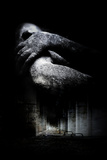 Umarmung Fotodruck von Alexandra Stanek