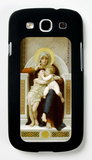 Virgin with Jesus 1875 Galaxy S III Case by William Adolphe Bouguereau
