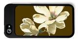 Magnolia on Taupe I iPhone 5 Case