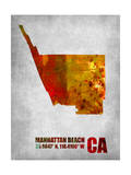 Manhattan Beach California Posters by  NaxArt