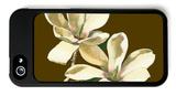 Magnolia on Taupe II iPhone 5 Case