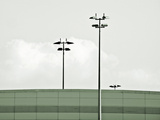 Airport Lights Photographic Print by Eugenia Kyriakopoulou