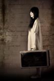 Asian Traveling Woman Photographic Print by Ricardo Demurez