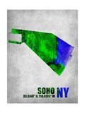 Soho New York Prints by  NaxArt