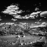 Labyrinth, New Mexico Photographic Print by Dee Smart
