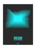 Oregon Radiant Map 5 Prints by  NaxArt