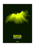 Russia Radiant Map 3 Posters by  NaxArt