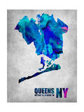 Queens New York Art by  NaxArt
