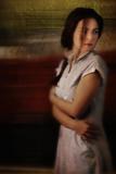 Nostalgic Woman Watching Back Photographic Print by Ricardo Demurez
