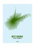 West Virginia Radiant Map 2 Posters by  NaxArt
