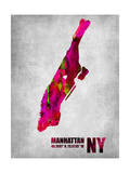 Manhattan New York Prints by  NaxArt