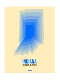 Indiana Radiant Map 1 Prints by  NaxArt