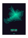 Barcelona Radiant Map 2 Prints by  NaxArt