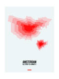 Amsterdam Radiant Map 1 Posters by  NaxArt