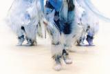 Blue Group, Indian Pow Wow Fotodruck von Dee Smart