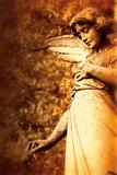 Old Sculpture Of An Angel Reproduction photographique par Ricardo Demurez