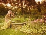 Bubbles, Secret Garden Photographic Print by Dee Smart